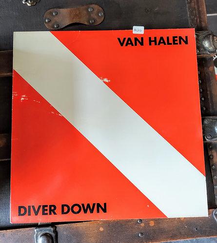 1982 VAN HALEN Diver Down vinyl album