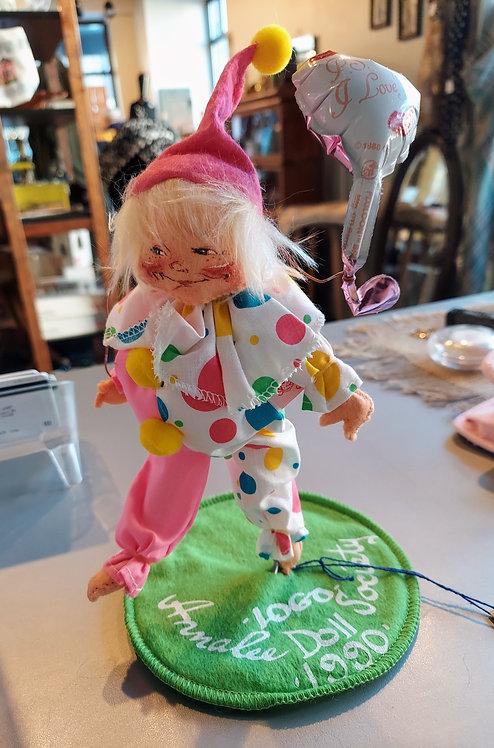 Vintage 1990 Annalee -LOGO- Society Doll