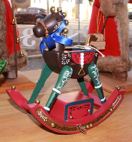 Enesco Musical Rocking Horse