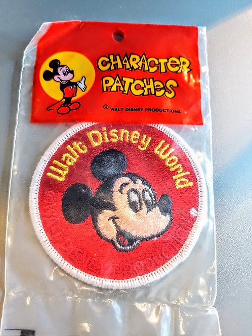 VINTAGE Walt Disney Character Patches