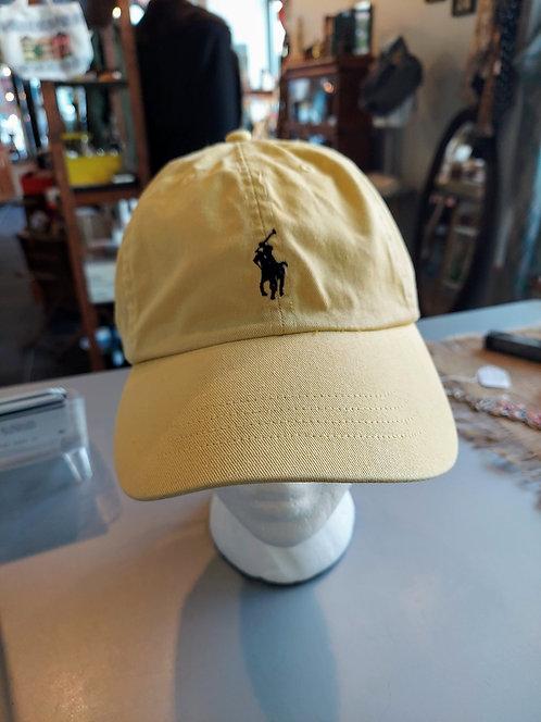 Vintage POLO leather strap back hat
