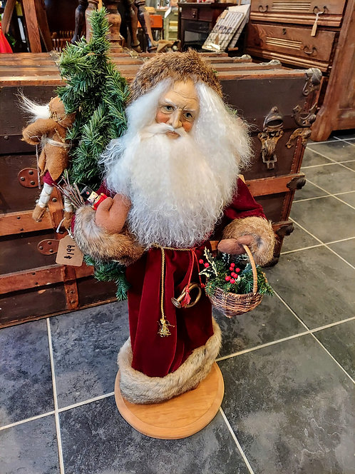 "Vintage Lynn Haney ""Old World Father Christmas"""