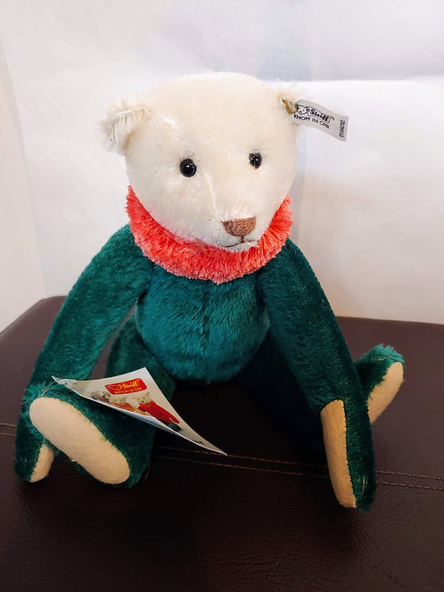 Vintage Steiff Circus Dolly Bear -Green