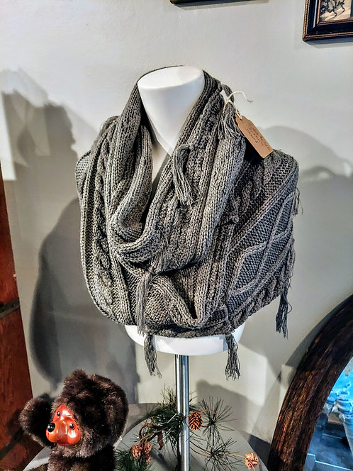 Infinity scarf by: Grace & Lace