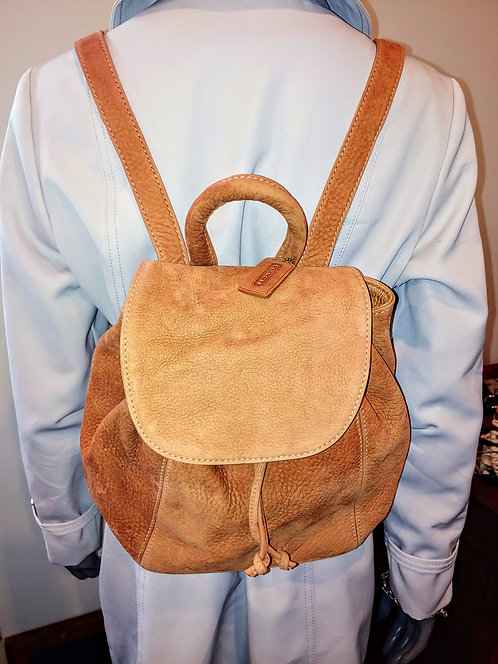 Vintage Coach Sonoma Nubuck leather backpack