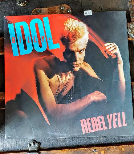 1983 BILLY IDOL Rebel Yell vinyl album
