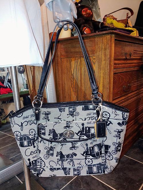 Coach Horse and Carriage Handbag