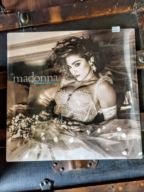 SEALED! 1984 MADONNA Like a Virgin vinyl album