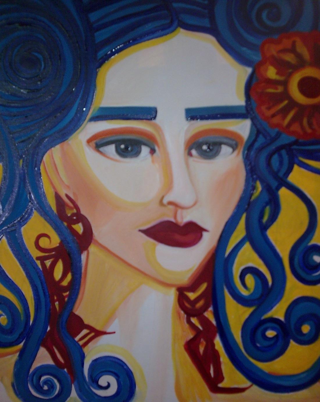 Frida Kahlo 1x1m vendue