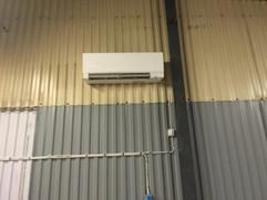Mitsubishi Luft luft installation i Höganäs