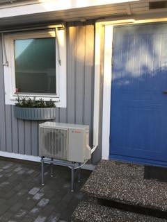 Bosch Luft luft installation Nyhamnsläge.