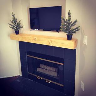 modern pine mantle.jpg