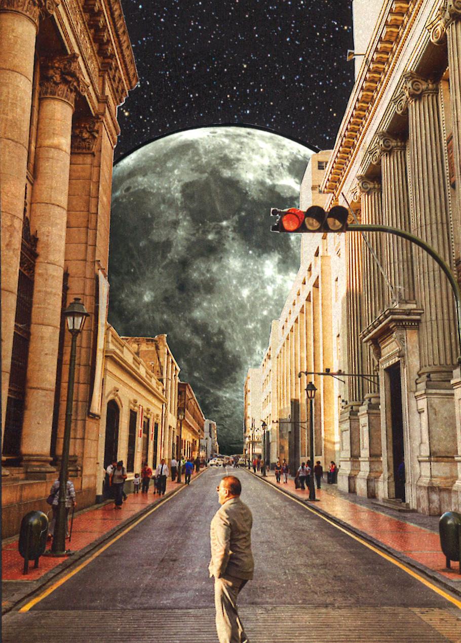 Follow the moon light, 2020.