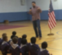 Cub Scout Pack 706 - Reisterstown/Glyndon, Maryland: Pack Meeting with Eagle Scout, Bronson Kaufusi of the Baltimore Ravens