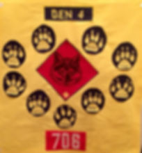 Cub Scout Pack 706 - Reisterstown/Glyndon, Maryland: Wolf Den Flag, Den Meetings