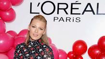 Blake Lively foi a anfitriã na festa de lançamento da L'Oréal Paris Paints + Colorista