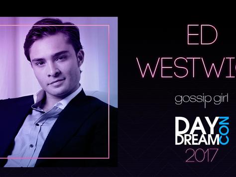 Ed Westwick virá ao Brasil em julho!
