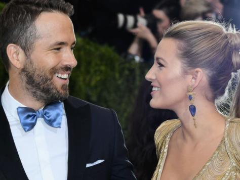 Ryan Reynolds fez declaração de amor para Blake Lively no Met Gala 2017