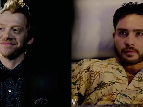 Chuck Bass e Rony Weasley na mesma série?