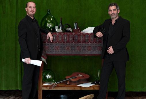 Duo Agua e Vinho, guitares