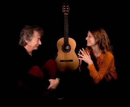 Duo Bensa-Cardinot, guitares et chant