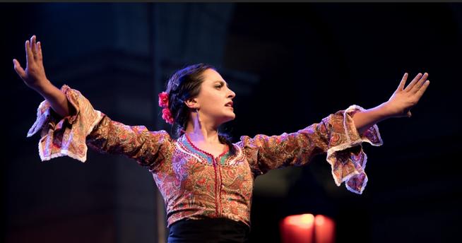 Helena Cueto, danse flamenca