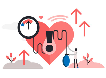 1 out of 5 deaths in India are due to hypertension (blood pressure) and its complications as of 2019