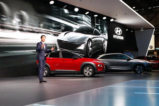 Hyundai Press Conference Geneva 2018