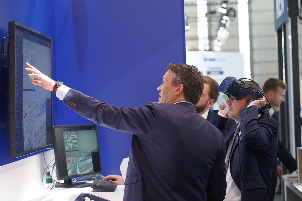 Technical consulting with iVP during the LIGNA 2019