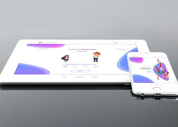 white-tablet-computer-by-white-iphone-6-
