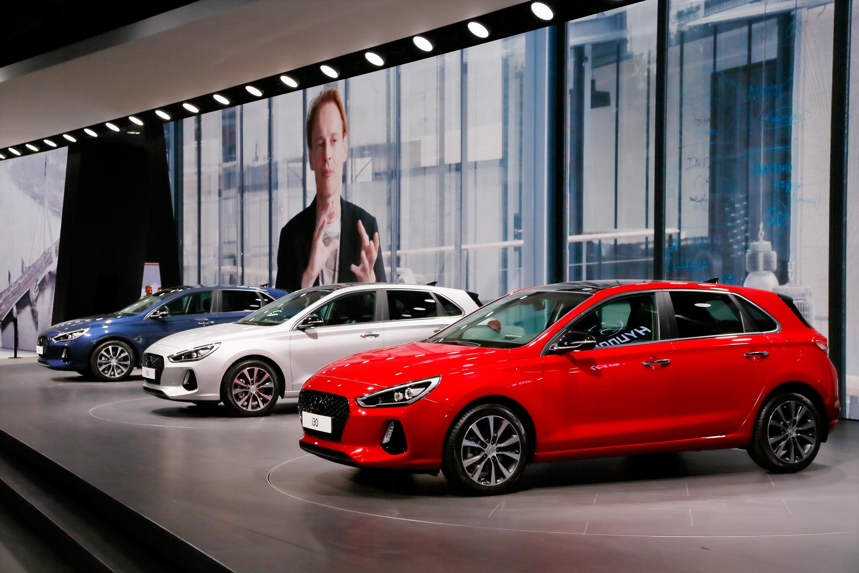 Hyundai Press Conference Paris 2016