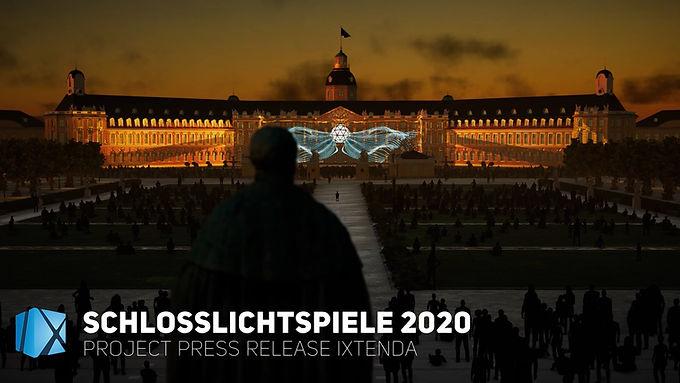 Press Release Schlosslichtspiele 2020