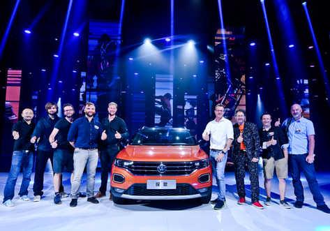FAW VW T-Roc Launch