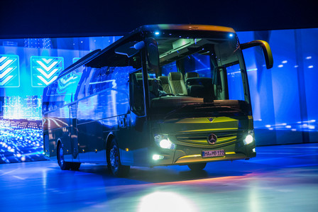 World Premiere Mercedes-Benz Tourismo.
