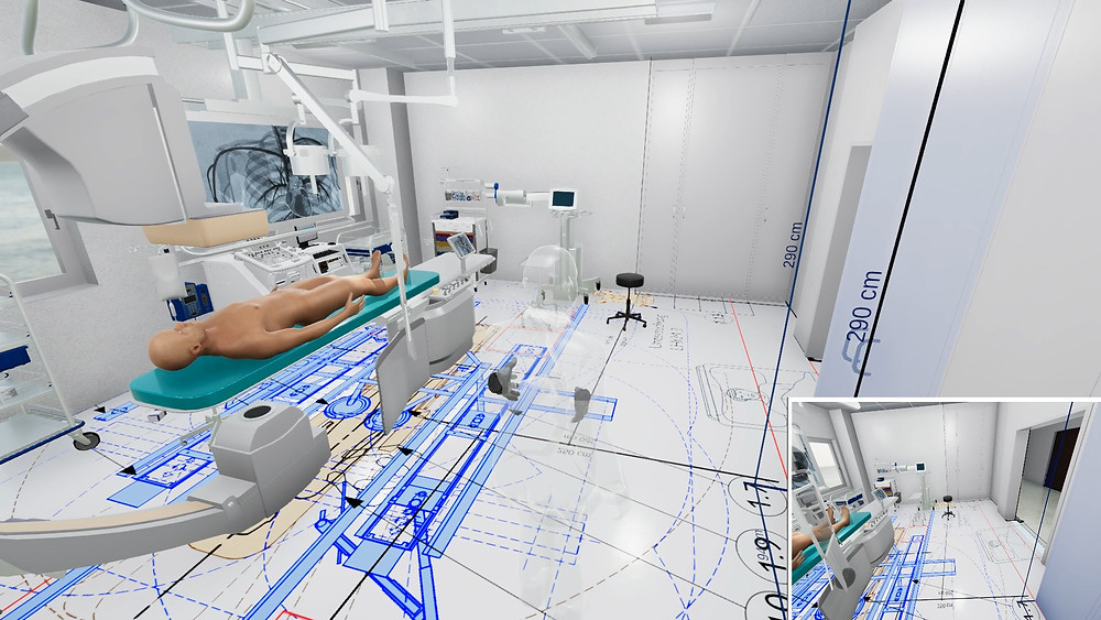 Empowers clients and engineers to collaborate in real-time 3D and extended realities to  to identify and eliminate ergonomic or planning errors in the early project.