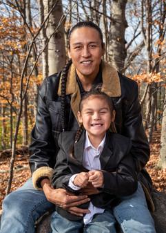 Jordan and son