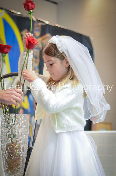 FIRST COMMUNION CEREMONY