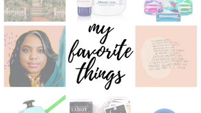 My Favorite Things - Summer 2020 Edition