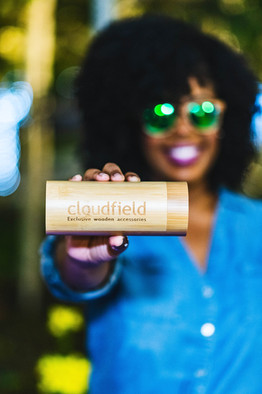 Company: Cloudfield Exclusive Wooden Accessories Model: Kaelyn Richele