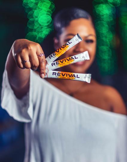 Company: Revival Shots Model: Kaelyn Richele