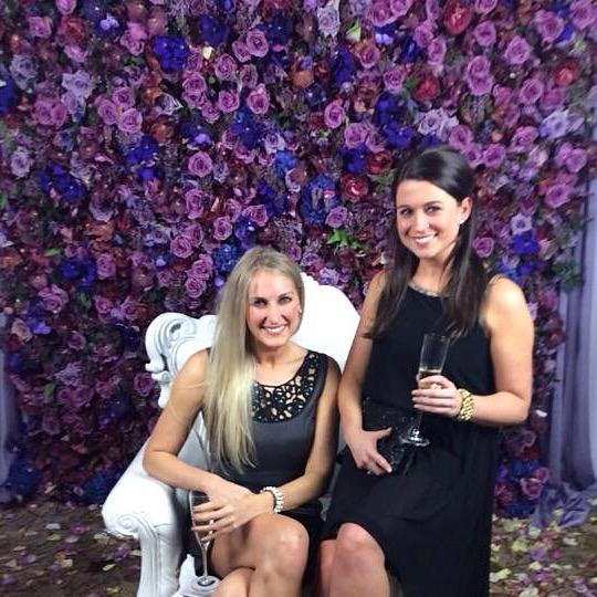 Cheryl & Kati at DC Royal Cocktails