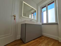 Rénovation complète d'une salle de bain à Bonnevoie
