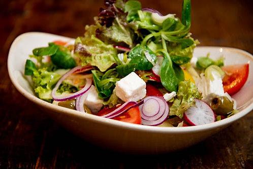 Hirtensalat mit Feta
