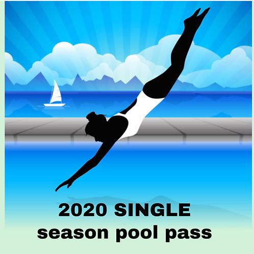 2020 Single Season Pass
