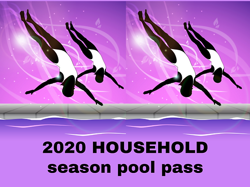 2020 Household Season Pass (up to 5 members)