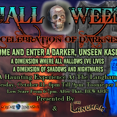 Celebration of Darkness 2018 haunt event in Kaslo, BC.