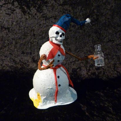 Deathly the Snowman Drunk
