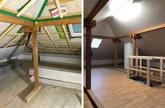 Dachbodenrenovierung