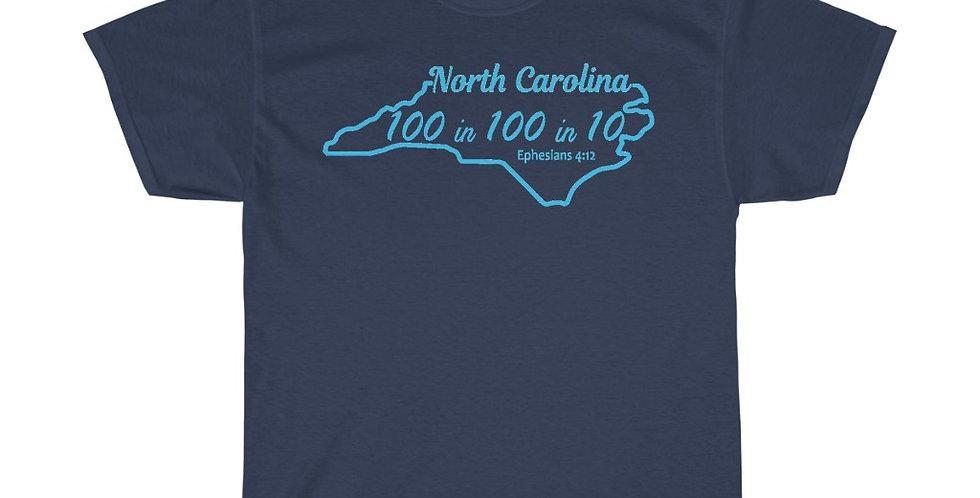 NC Vision T-Shirt (Bright Text)