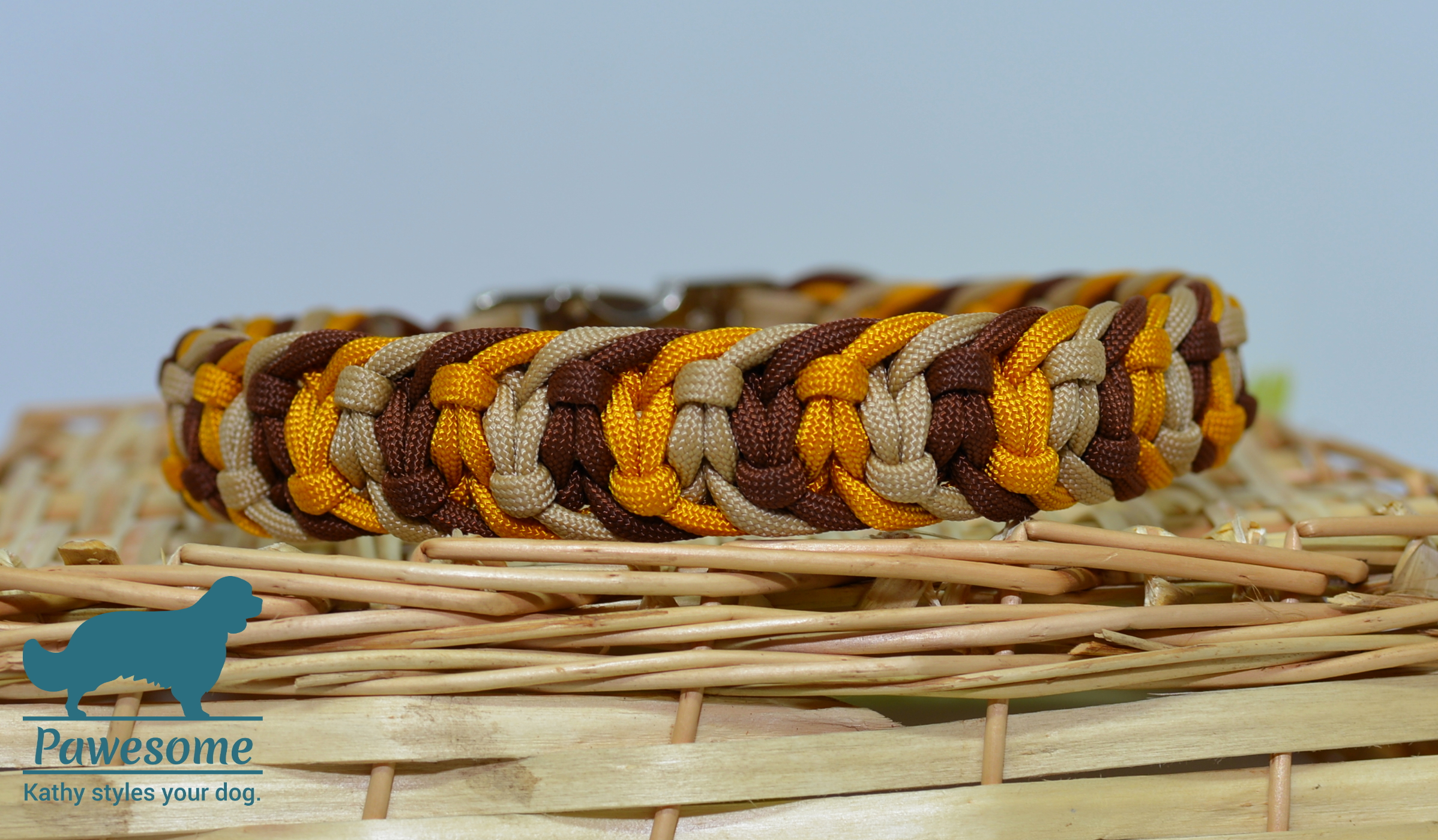 Halsband Jelly Belly braun